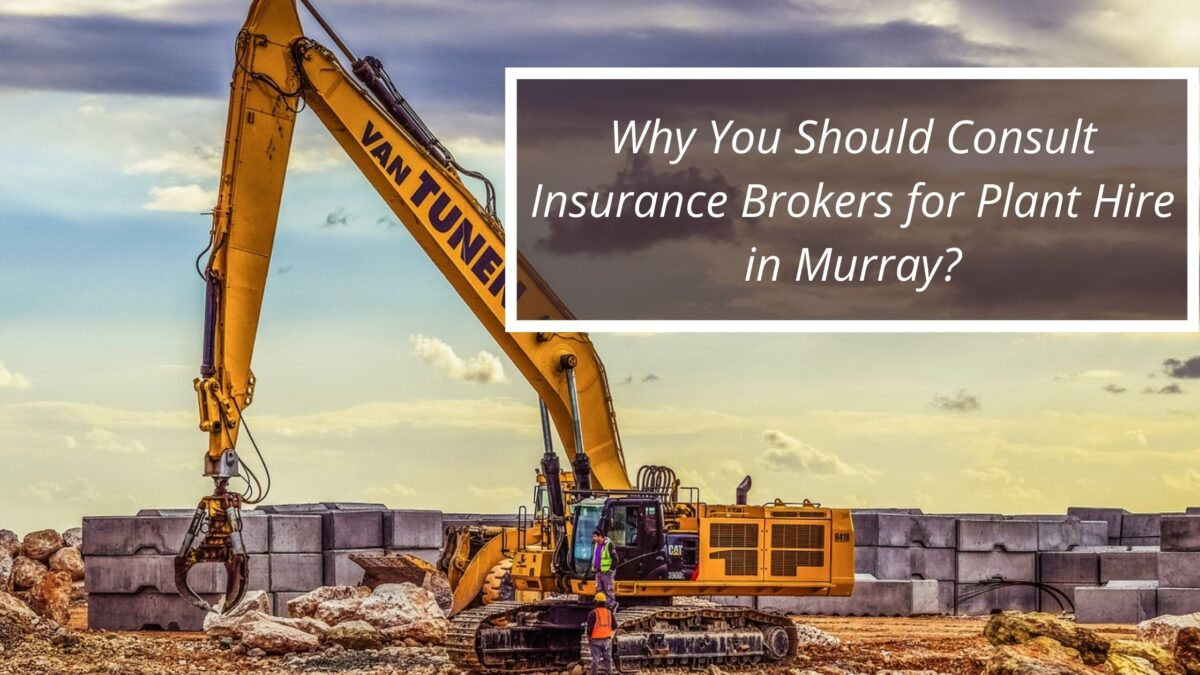 Why You Should Consult Insurance Brokers for Plant Hire in Murray?